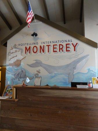 HI Monterey Hostel: Reception