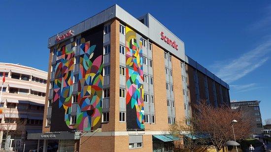 Киста, Швеция: Hotel building