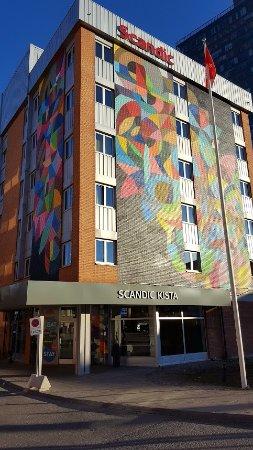 Киста, Швеция: Hotel entrance