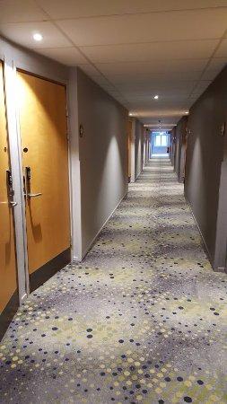 Киста, Швеция: Hotel corridor