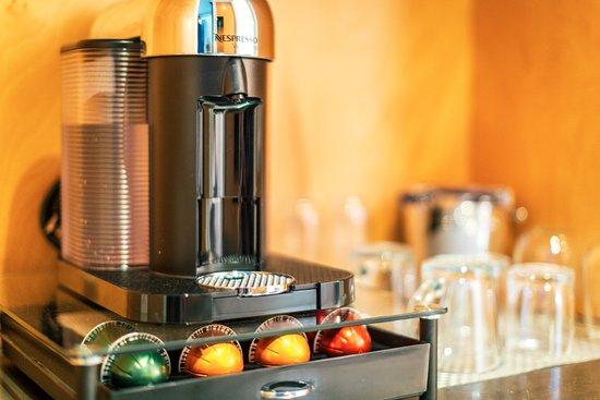 The Duchamp Healdsburg: In-room Nespresso Coffee