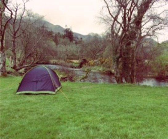 Beddgelert, UK: Our pretty little spot by the river