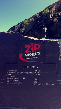 "Bethesda, UK: ""Big Zipper""!"
