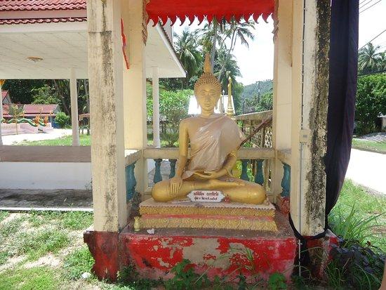 Lipa Noi, Thailand: Entrada do Templo budista!