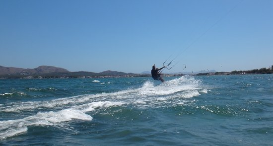 Alcudia, Spain: perfect riding water conditions. We love Mallorca