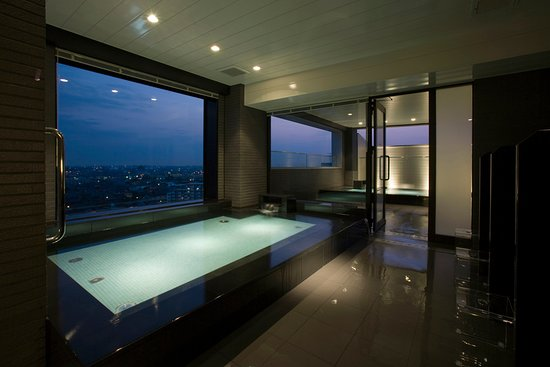 Handa, Jepang: The beautiful view from our Sky Spa.