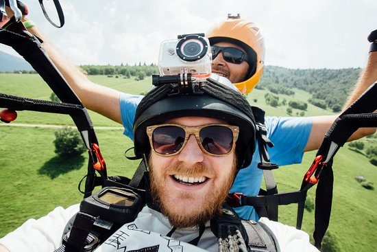 Clopotiva, Romania: How about a selfie up in the air?