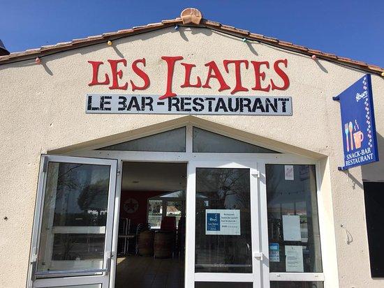 Loix, France: Les Ilates Bar-restaurant