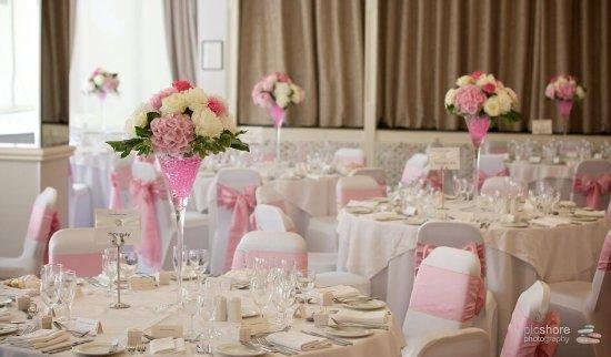 Yelverton, UK: All set for a wedding breakfast
