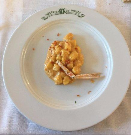 Lubriano, Ιταλία: gnocchetti agli scampi