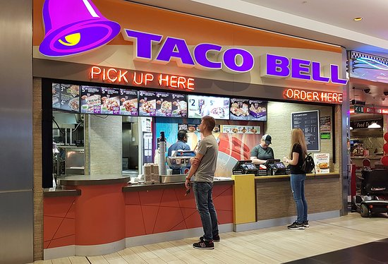 West Thurrock, UK: Taco Bell front