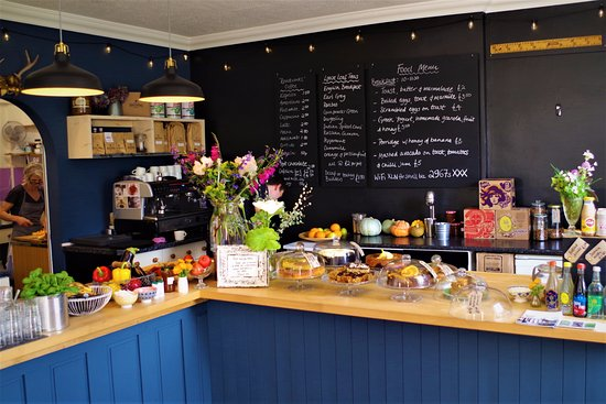 Kingsbridge, UK: lovely cafe