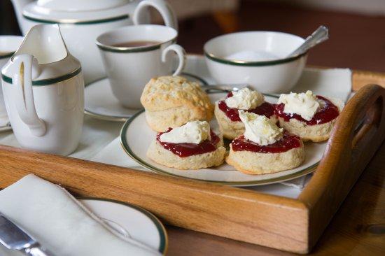 Tavistock, UK: On arrival enjoy a lovely home baked cream tea