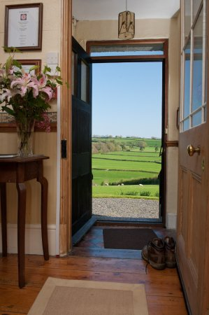 Tavistock, UK: Entrance way and view outside