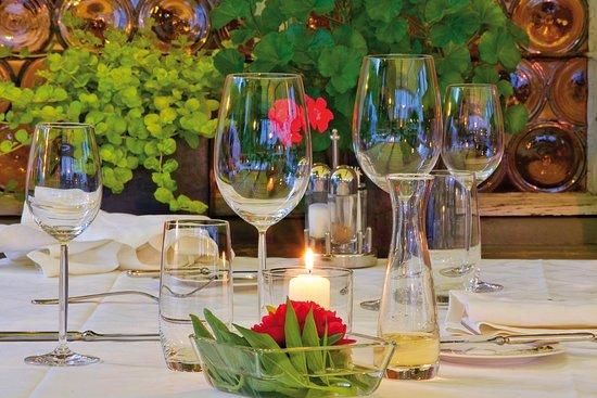 Schwyz, Zwitserland: Gemütlicher Abend auf der Terasse