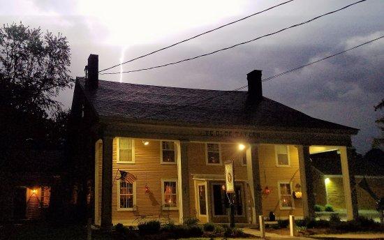 Manchester, VT: We're no Ansel Adams, but glad we captured the lightning bolt!