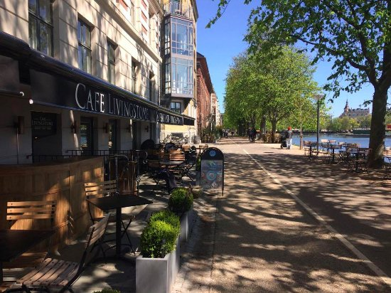 Café Livingstone Is Located On østerbro With A Fantastic View To The