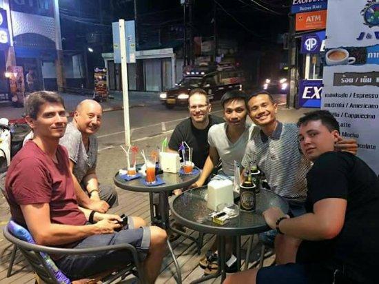 Bophut, Thailand: With  a  friends