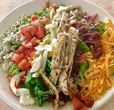 Freehold, NJ: Cobb salad