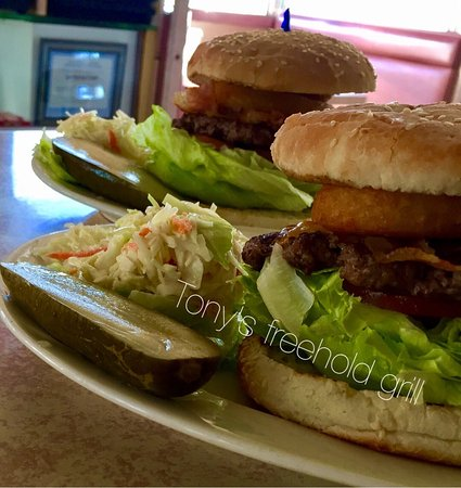 Freehold, Nueva Jersey: Smoke house burger