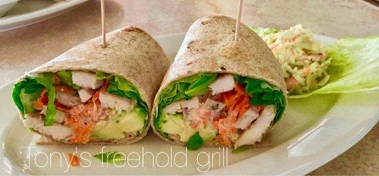 Freehold, NJ: Cajun chicken avocado wrap
