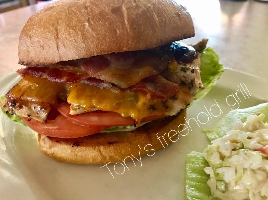 Freehold, Nueva Jersey: Hickory chicken sandwich