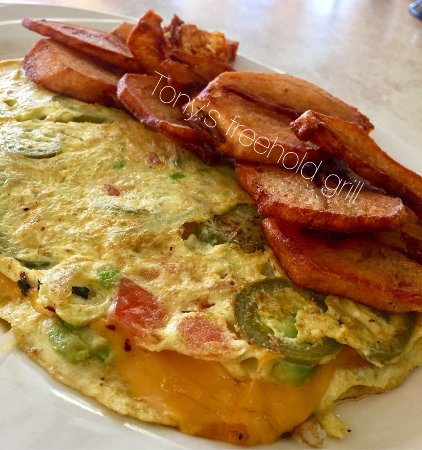Freehold, NJ: Mexican omelette