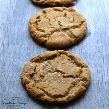 Canandaigua, NY: Salted Brown Sugar Toffee Cookies