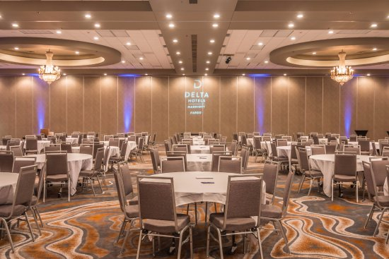 Delta Hotels by Marriott Fargo : Crystal Ballroom at Delta by Marriott Fargo
