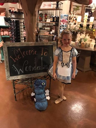 Morganton, NC: Alice made her way to Wonderland after her dance recital