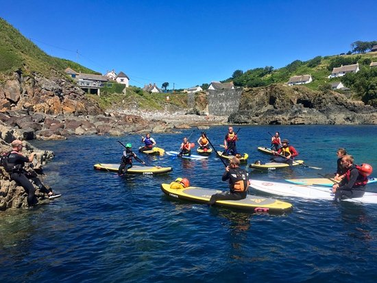 Lizard, UK: Paddle Board instructors course Cadgwith Cove