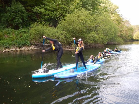 Lizard, UK: Paddle Board instructors course Wales