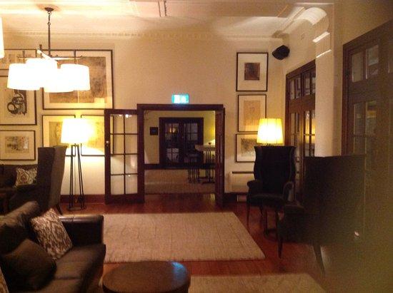 Hepburn Springs, Australien: Lounge area main hotel