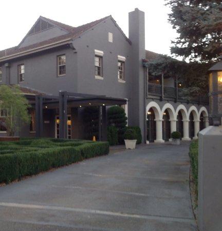 Hepburn Springs, Australien: Main hotel