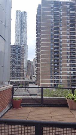 Hampton Inn Manhattan-Seaport-Financial District: view from terrace