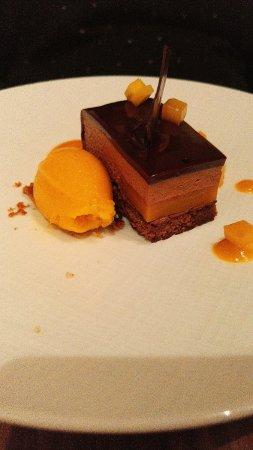 Montbazon, France: Barre chocolat-mangue