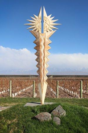 Lujan de Cuyo, Argentina: escultura viñedos