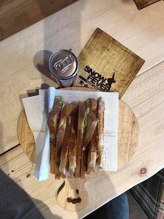 Prato Nevoso, Italie : pausa pranzo