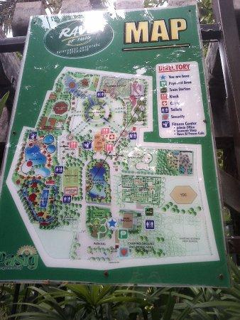 Rainforest Park: Map1