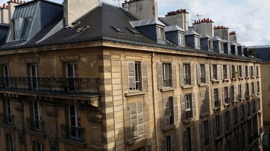 La Maison Favart: Our view from the 5th floor