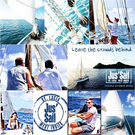 Gros Islet, Sainte-Lucie : Our new offer Jus'Up'N' Go! a 3hr morning sail. We get you back for lunch and the beach!