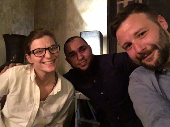 Riad Dar Darma: Said with us, during dinner on our last night!