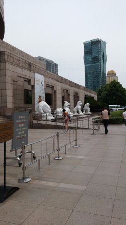 Museo de Shanghai: הכניסה למוזאון