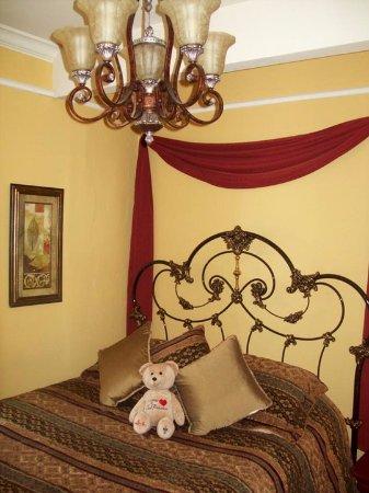 The Fitzgerald Hotel: Detalhe do meu quarto.