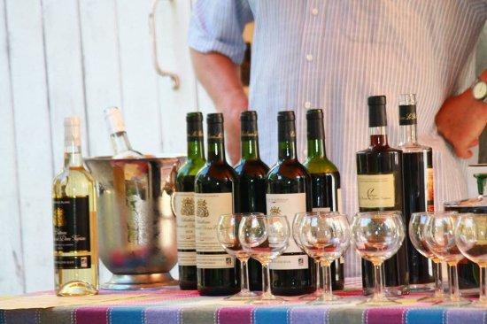 Camblanes et Meynac, فرنسا: Dégustation des vins du domaine