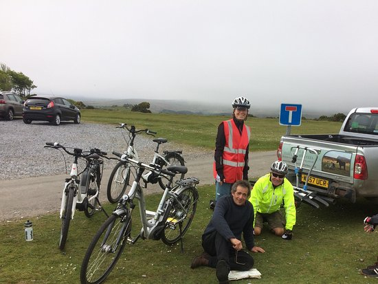 Dartmoor Electric Bicycles: Planning our route