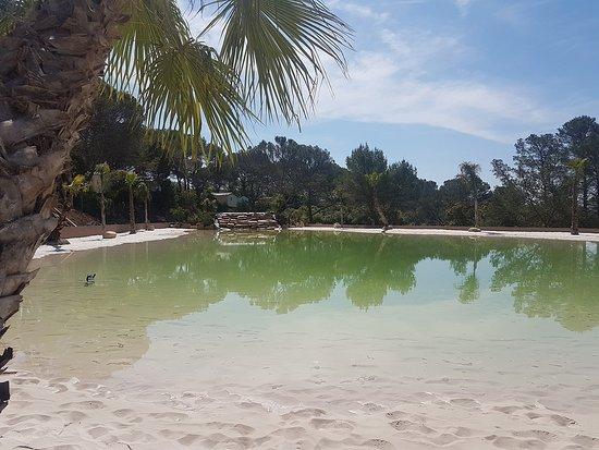 Un lagon plage unique gratuit pour tous os clients ! 1200m2 de ...
