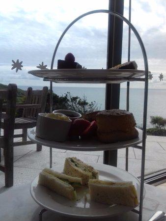 Mullion, UK: Afternoon tea