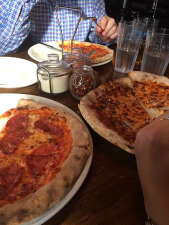 great pizzas light and yummy photo de the grand pizzeria bar ottawa tripadvisor. Black Bedroom Furniture Sets. Home Design Ideas