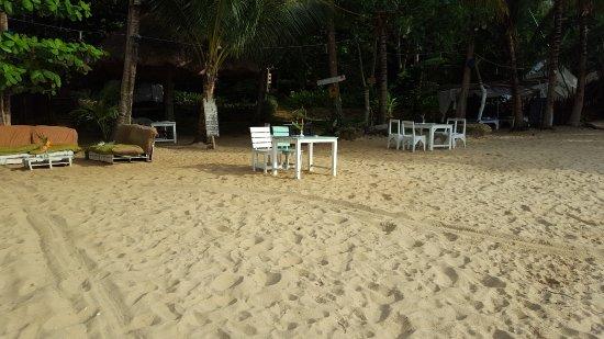 Lisca Beach: Restaurant